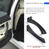 InSassy Door Pull Handle Set for BMW E90 E91 E92 3 Series - LEFT Rear Pull Handle & Outer Trim Cover