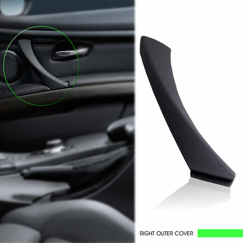 InSassy Door Pull Handle Trim Cover for BMW E90 E91 E92 E93 3 Series - RIGHT Front/Rear Passenger