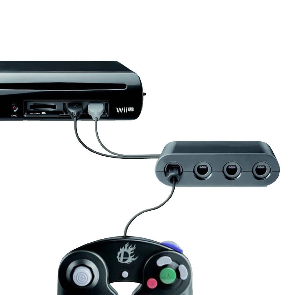InSassy GameCube Controller Adapter for Wii U and PC