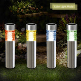 InSassy Outdoor Landscape Solar LED Lights - Waterproof Pathway - Warm / Color Changing - Comtempo