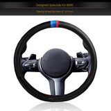 InSassy Steering Wheel Cover M Sport Carbon Fiber Look for BMW Series Cars – Motorsport Edition Accessories