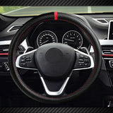 InSassy Steering Wheel Covers Universal 15 inch with Sport Carbon Fiber Look for Car Truck SUV