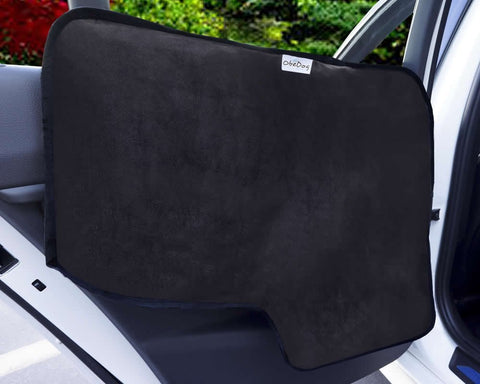Deluxe Suede/Oxford Waterproof Car Door Panel Cover