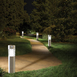 InSassy Outdoor Landscape Solar LED Lights - Motion Sensor Detection – Warm Light - Guardian