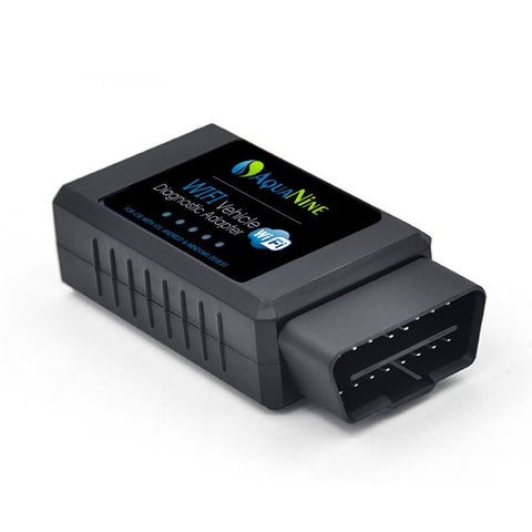 OBD2 OBDII Wifi Car Diagnostic Scanner by AquaNine - Code Reader Scan Tool