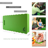 InSassy Garden Kneeler Pad - Kneeling Mat for Gardening, Baby Bath, Yoga & More - LARGEST & THICKEST