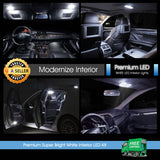 White LED Bulb Interior Lights Package For Honda Accord 2013 - 2018 Sedan Coupe