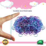 600 Refillable Rubber Loom Band For Kids Child Handmade Toy DIY