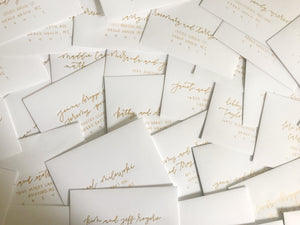 Hand Lettered Envelopes • Style Six