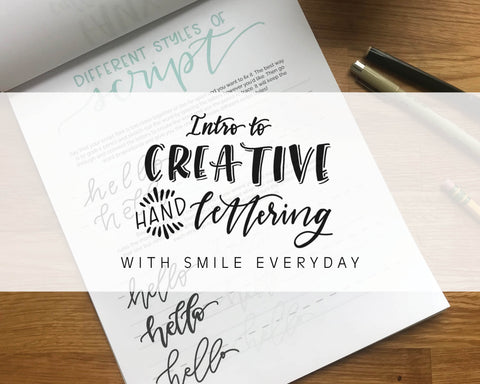 Intro to Creative Hand Lettering