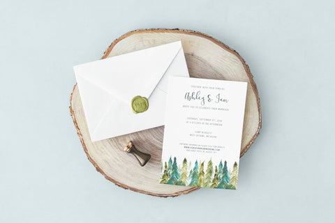 Save the Dates + Invitations