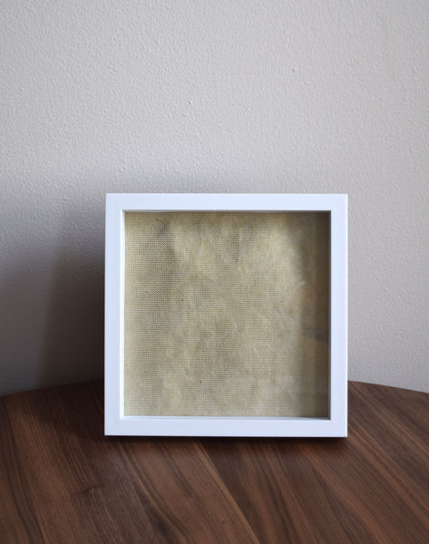 Shadow Box White Frame • Custom