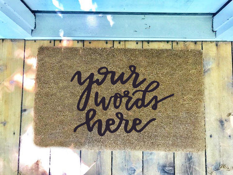 Custom Script • Door Mat
