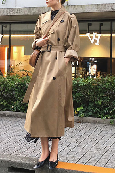 Oversized Spring Trench