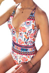 Delia Floral One Piece Swimsuit