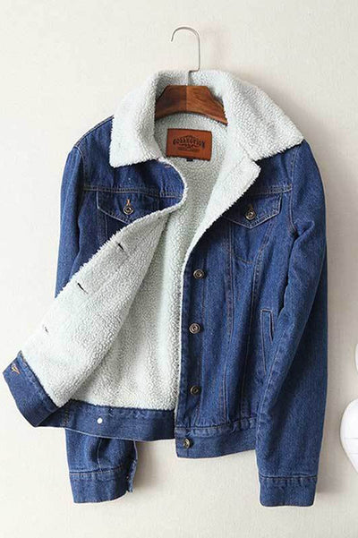 Denim Jacket in Midwash Blue