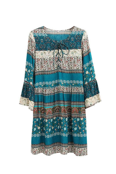 Desert Spell Bohemian Short Dress