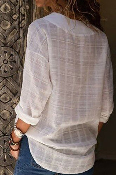 Semi Sheer Tunic Top