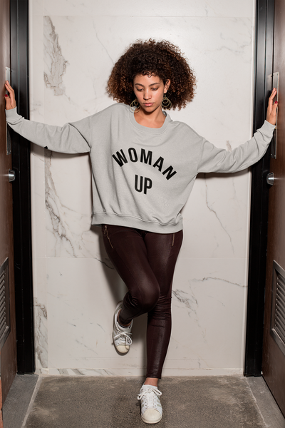 Woman Up Sweatshirt