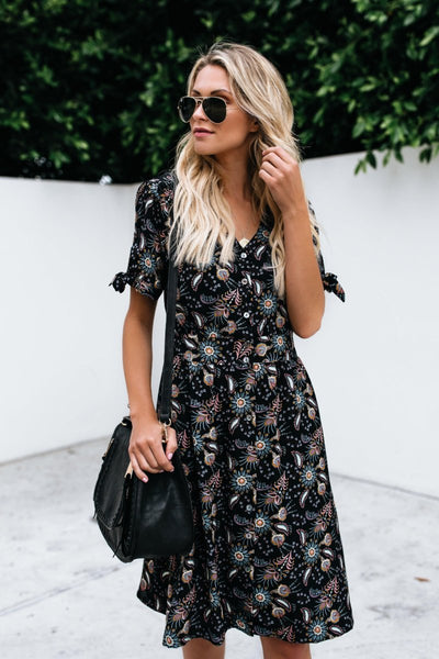 Apothecary Button Down Dress