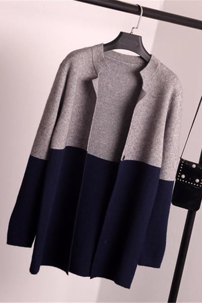 Colourblock Cardigan