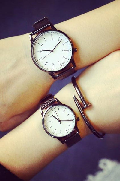 No distance in Time watches pair