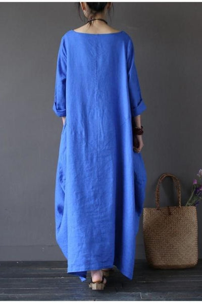 Bohemian Maxi Dress-Loosely Store