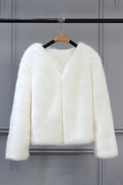 Bold Faux Fur Luxe Jacket