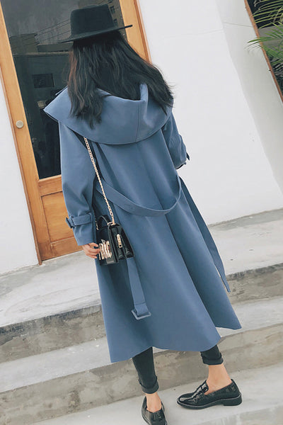 Oversized Loose Cape Coat