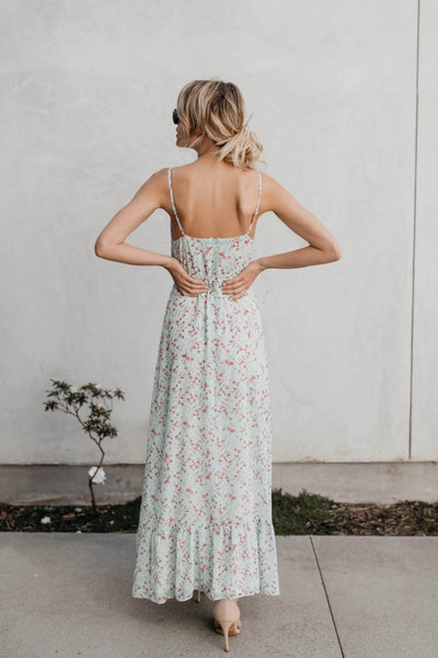 Tilly Floral Empire Maxi Dress