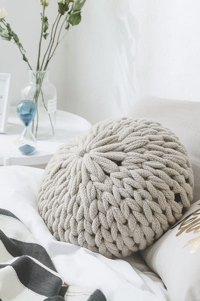 Hand Woven Pillow Cushion