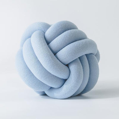 Handmade Knot Ball Cushion
