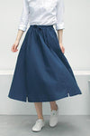 High Waisted Midi Skirt-Loosely Store