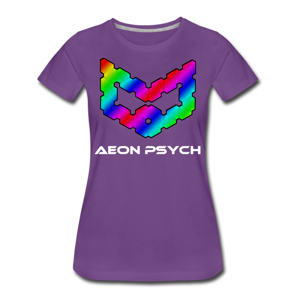 aeonpsRave - Women's T-Shirt - purple