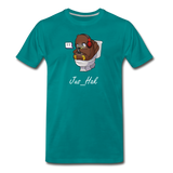 Jus Twitchin' Out - Men's T-Shirt - teal