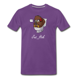 Jus Twitchin' Out - Men's T-Shirt - purple