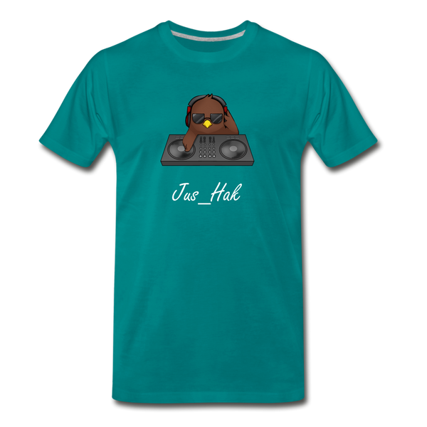 Jus DJ - Men's T-Shirt - teal