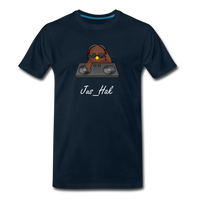 Jus DJ - Men's T-Shirt - deep navy