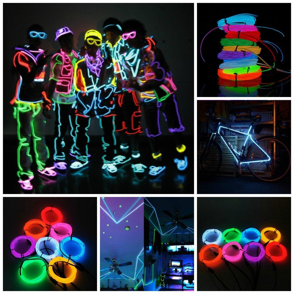 Wild Wire - Flexible Neon Light Wire – Touch Of Tech