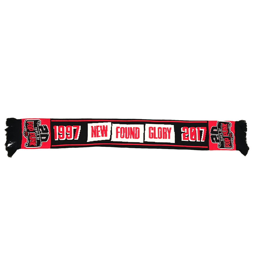 20 Years Of Pop Punk Scarf