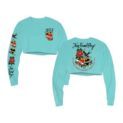 Stay A While Cropped Long Sleeve