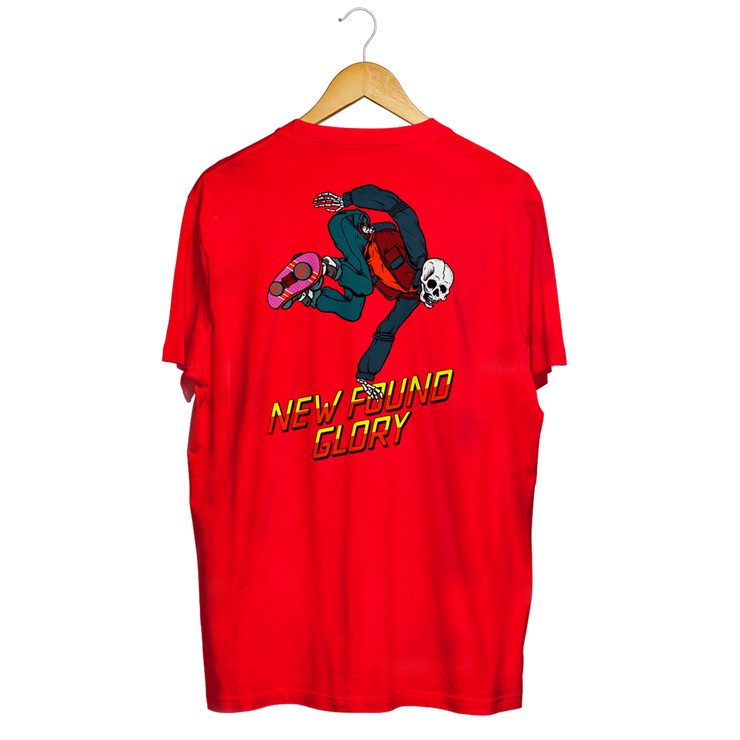Red Hoverboard Tee