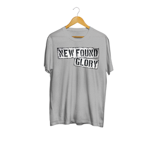 NEVER GIVE UP TEE (HEATHER GRAY)