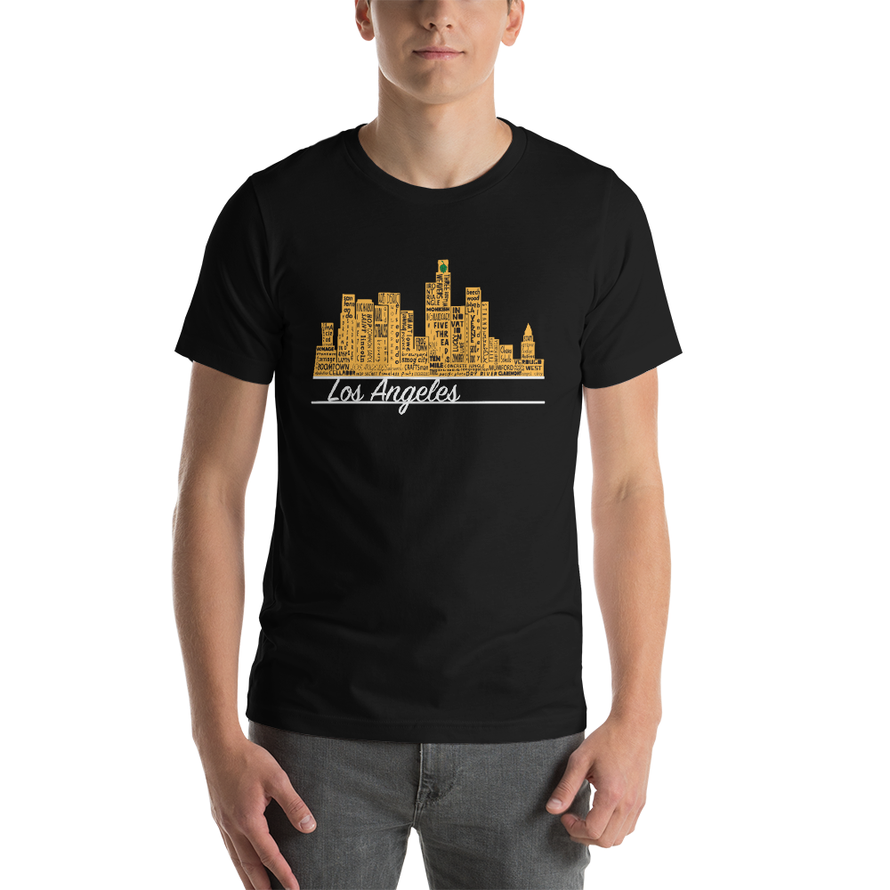 Breweries of L.A. Short-Sleeve Unisex T-Shirt