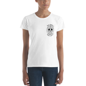 """Dame Lúpulos"" Women's short sleeve t-shirt"