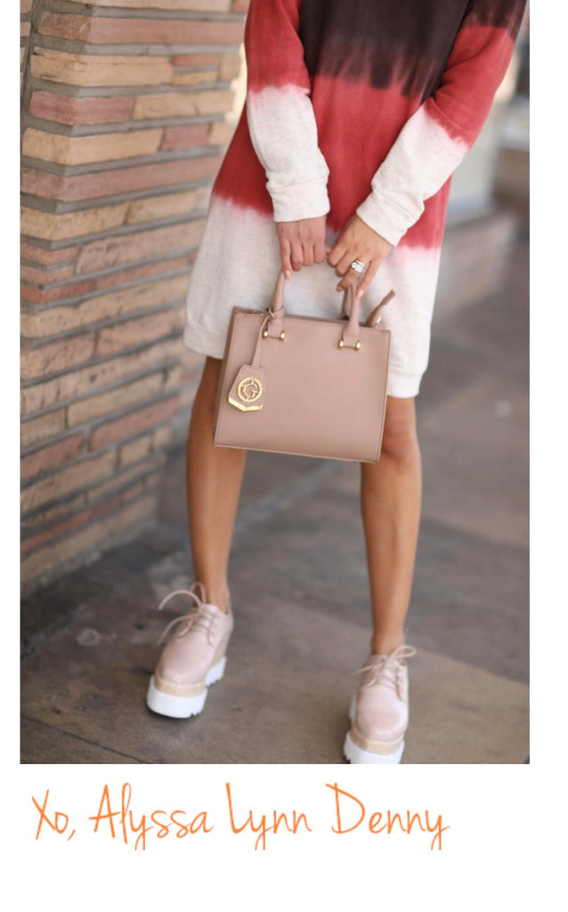 Social Media Maven Rocking Her Gretchen Christine Handbag