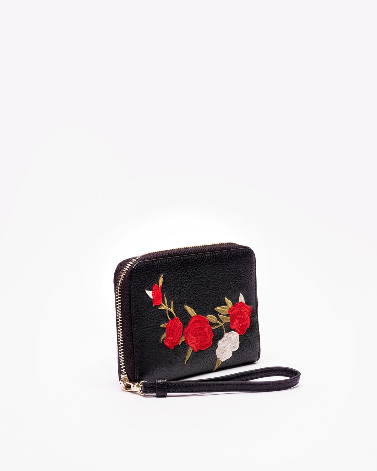 Jami - Vegan Leather Embroidered Wallet
