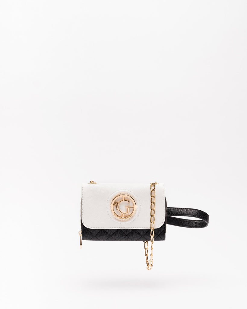 Kelsey - Vegan Leather Crossbody Clutch