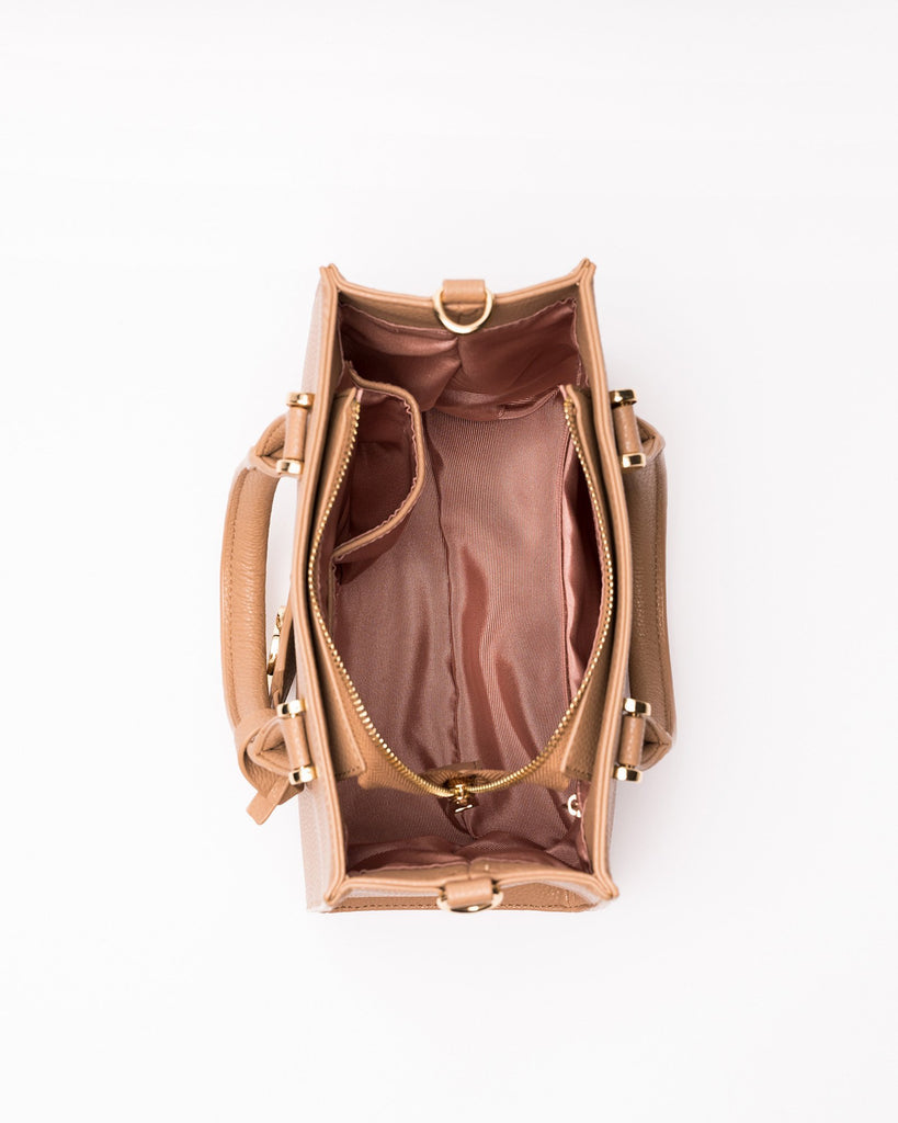 Jordyn - Vegan Leather Crossbody Satchel