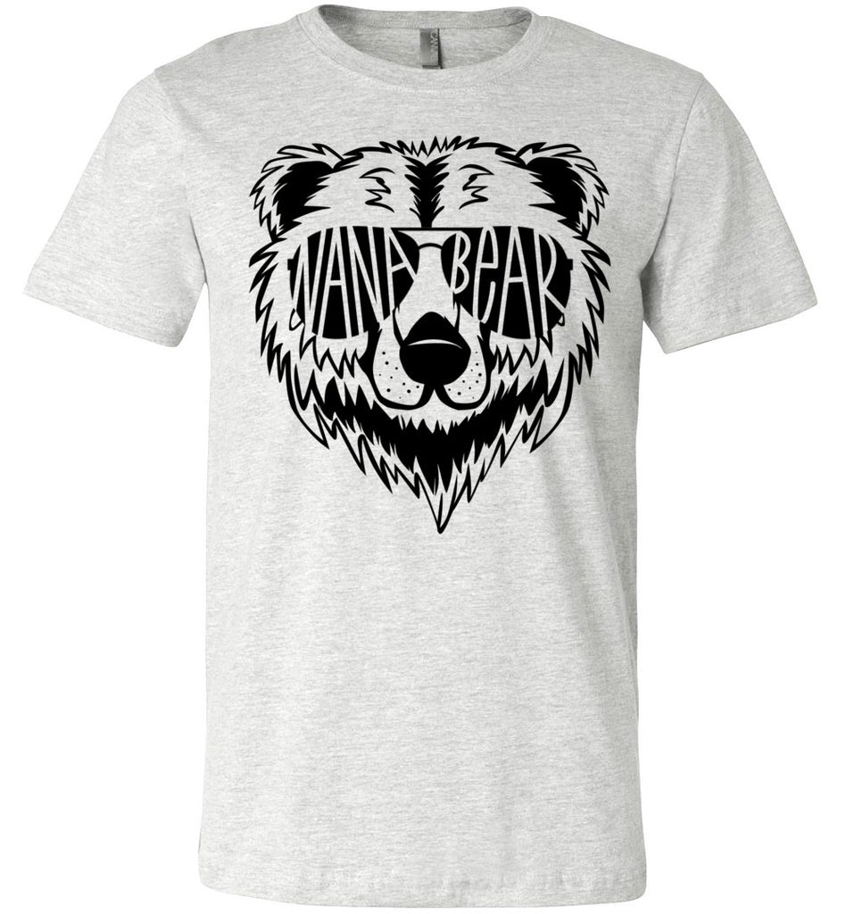 Nana Bear Shirt ash
